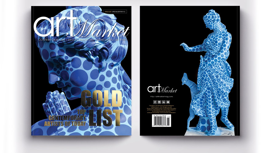 Art Market Magazine Gold List Special Edition Cover