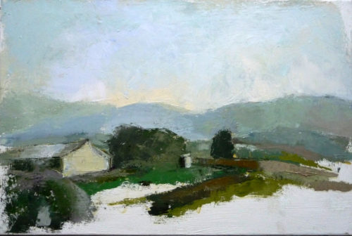 12_Kfar Yehosua, 2012, Oil on Canvas, 40X60