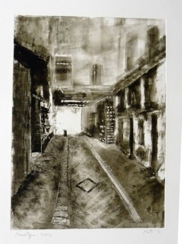 P1_Market ally, 2013, Monotype, plate 25X35