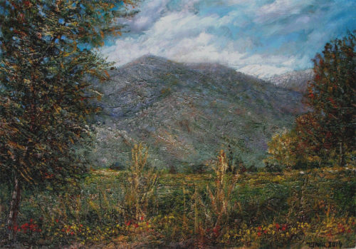 mount-Dov-&-Hermon-40x27-oil-on-wood