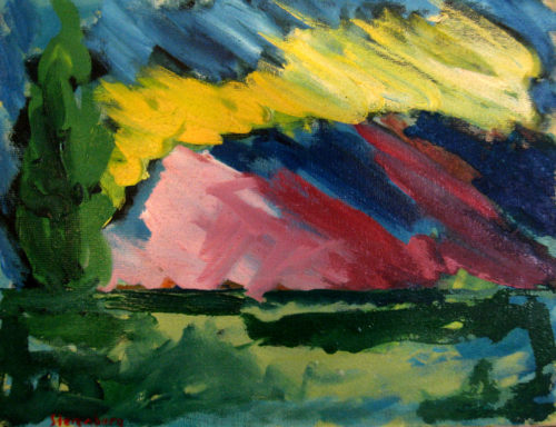 Mountain---35-x-45-oil-on-canvas