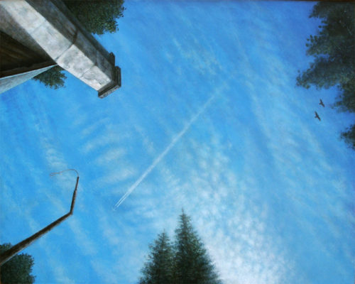 Reichenau-skys-80x100-acryl-on-wood