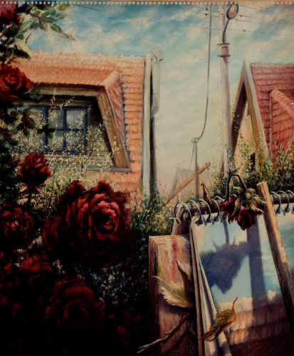 spring-1982-oil-on-board-70x55
