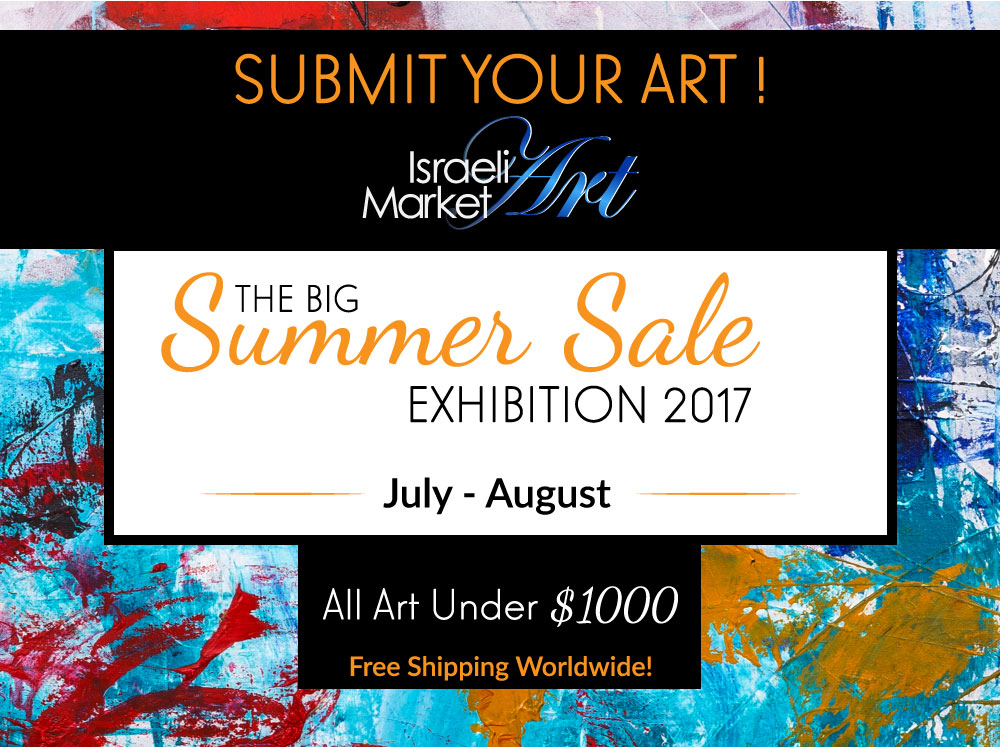 The Big Summer Sale 2017 Israeli Art Market
